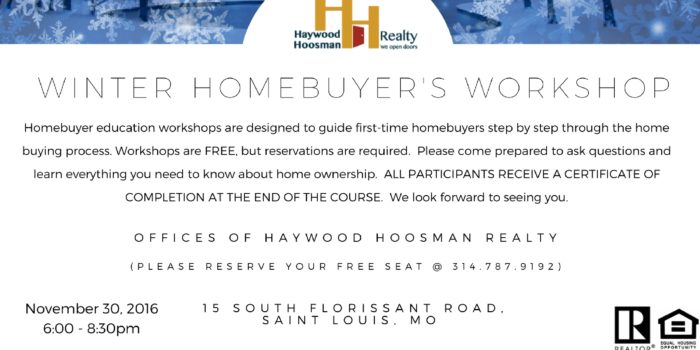 Winter Homebuyer s Workshop  d6d644818